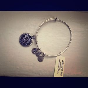 Alex and Ani bangle - endless knot charm